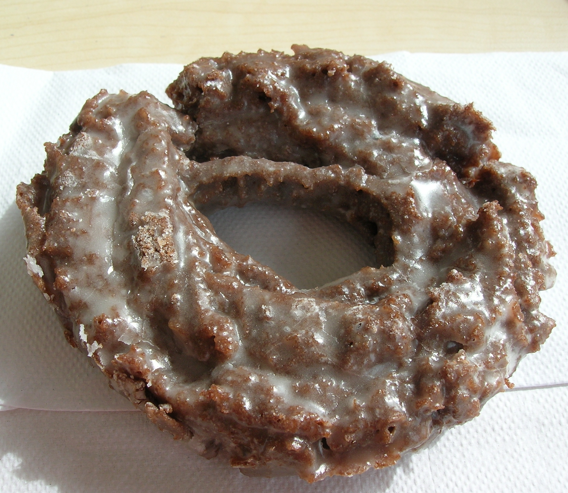 Chocolate Sour Cream Doughnut Recipe