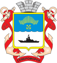 File:Coat of Arms of Severomorsk (Murmansk oblast).png
