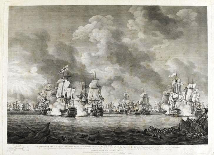 file combat naval entre les anglais et les francais sans precision lieu et date guerre d