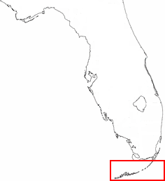 Location of Conch Republic
