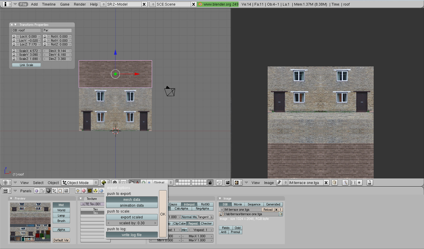 Create house tutorial export screenshot in Blender11.jpg