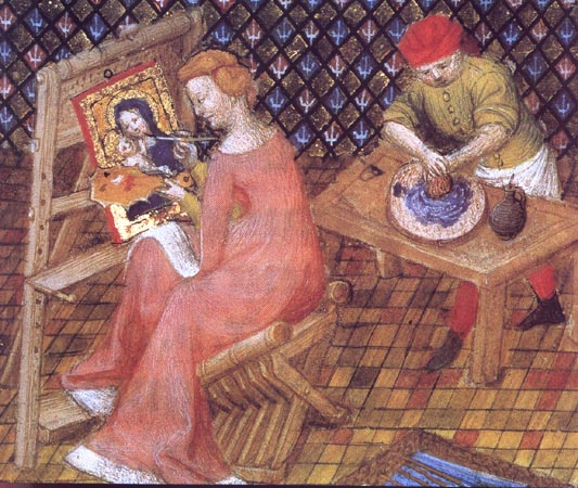 An analysis of the works of the artists in the medieval era