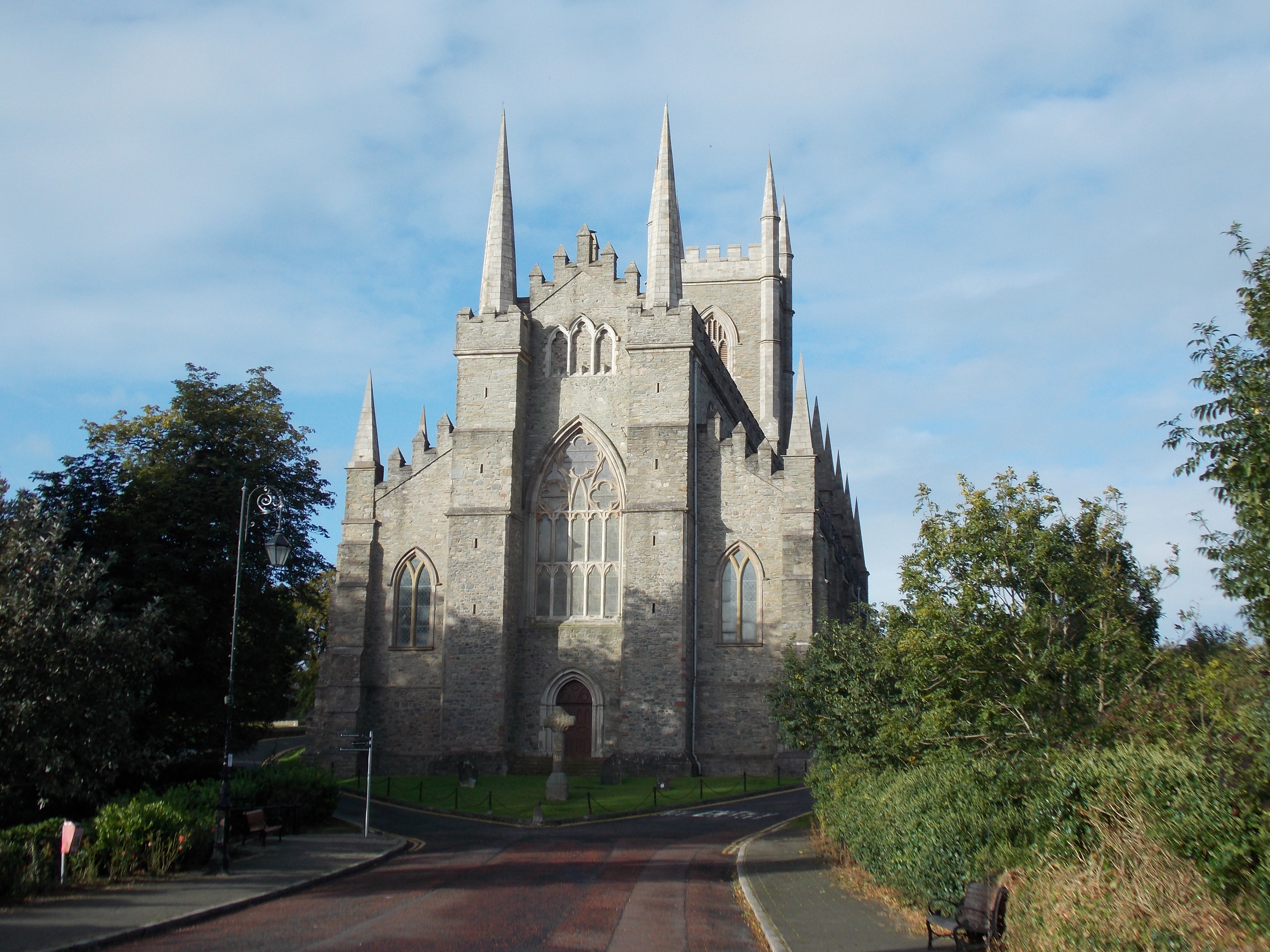Down Cathedral Ireland File:down Cathedral Rear View