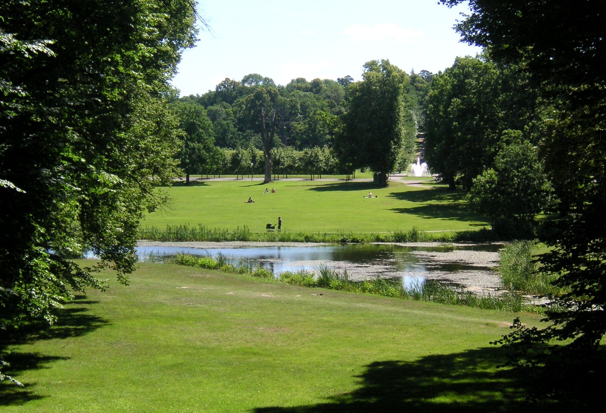 Description drottningholm engelska parken 2007