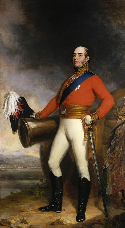 Prince Edward, Duke of Kent, Commander-in-Chief, North America, 1791-1802 Duke of Kent (1818)GeorgeDawe.jpg