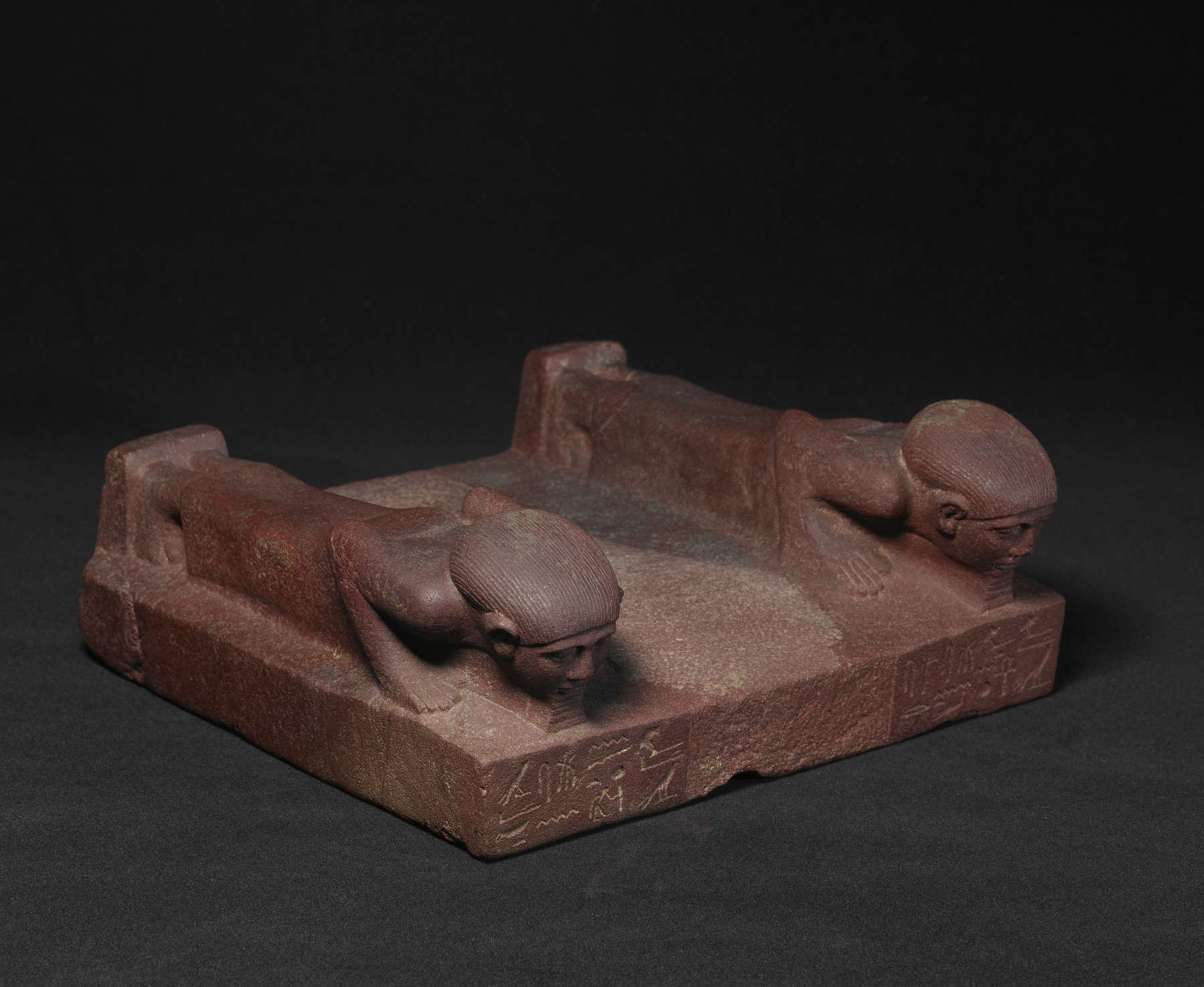 File:Egyptian - Base with Two Prostrate Figures - Walters 22373 ...