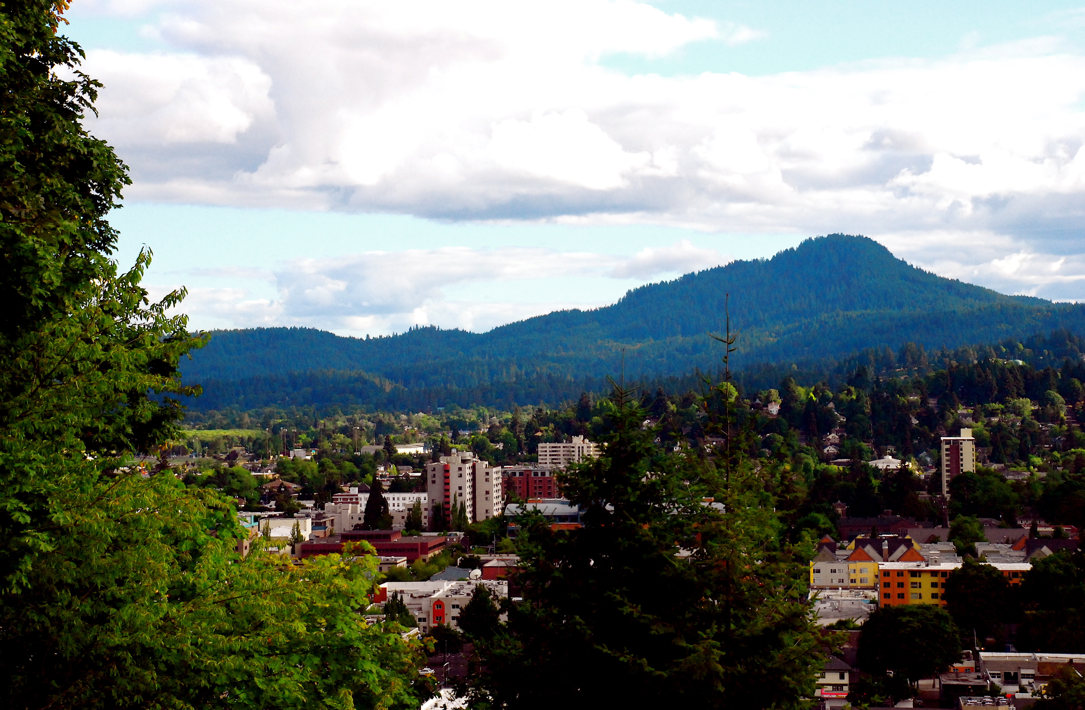 File:Eugene and Spencer Butte jpg - Wikimedia Commons