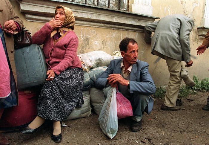 Refugiados durante la guerra de Bosnia y Herzegovina, 1993