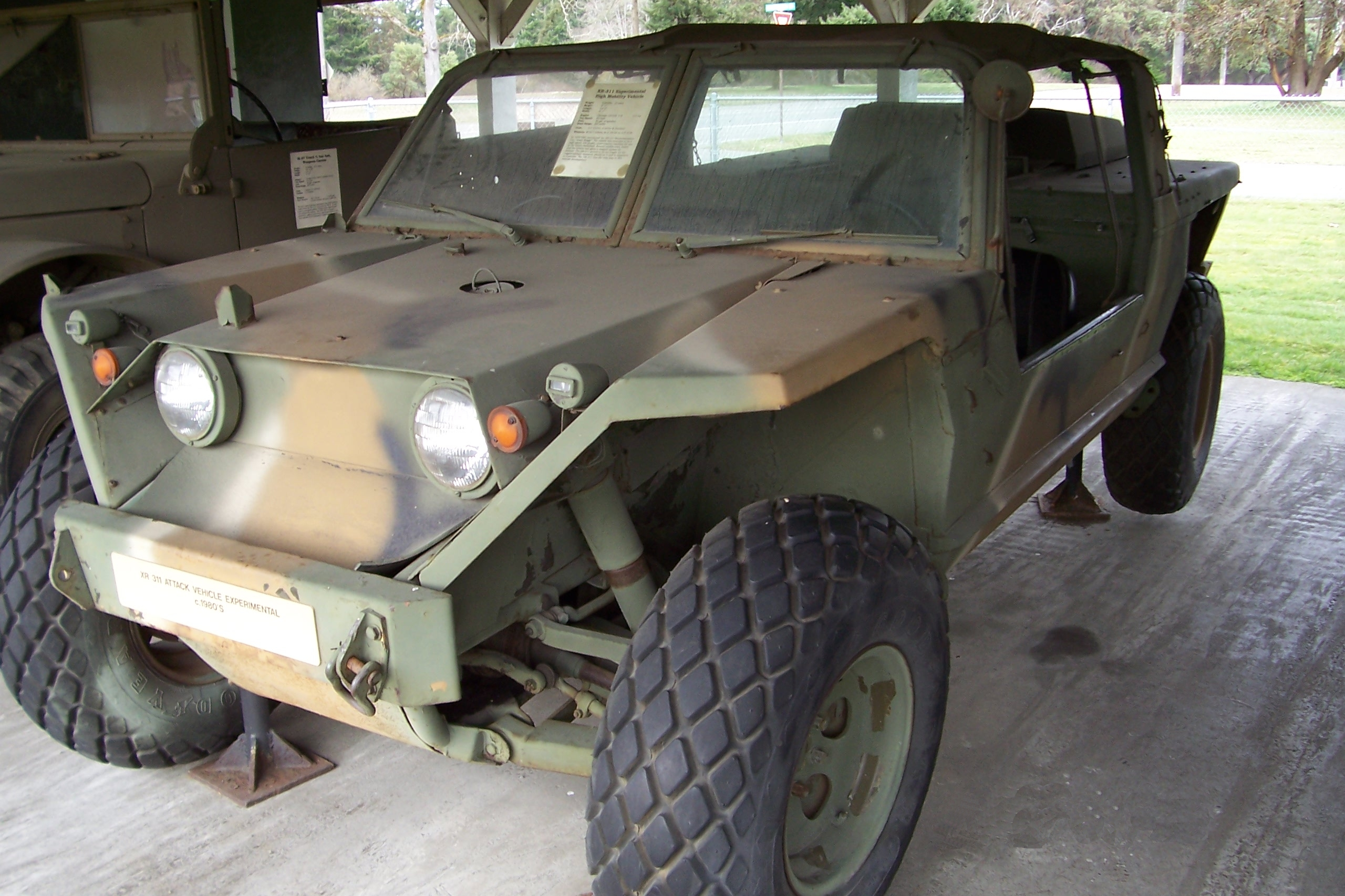 Fmc Xr311 Wikipedia Tow Harness Self Center Experimental Hummer From The 80s