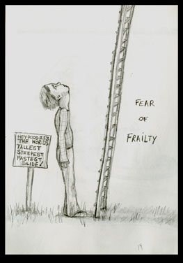 One Fear illustration from Book of Fears