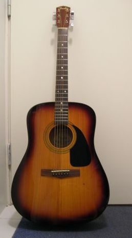 acoustic fender guitar DG-4/TS