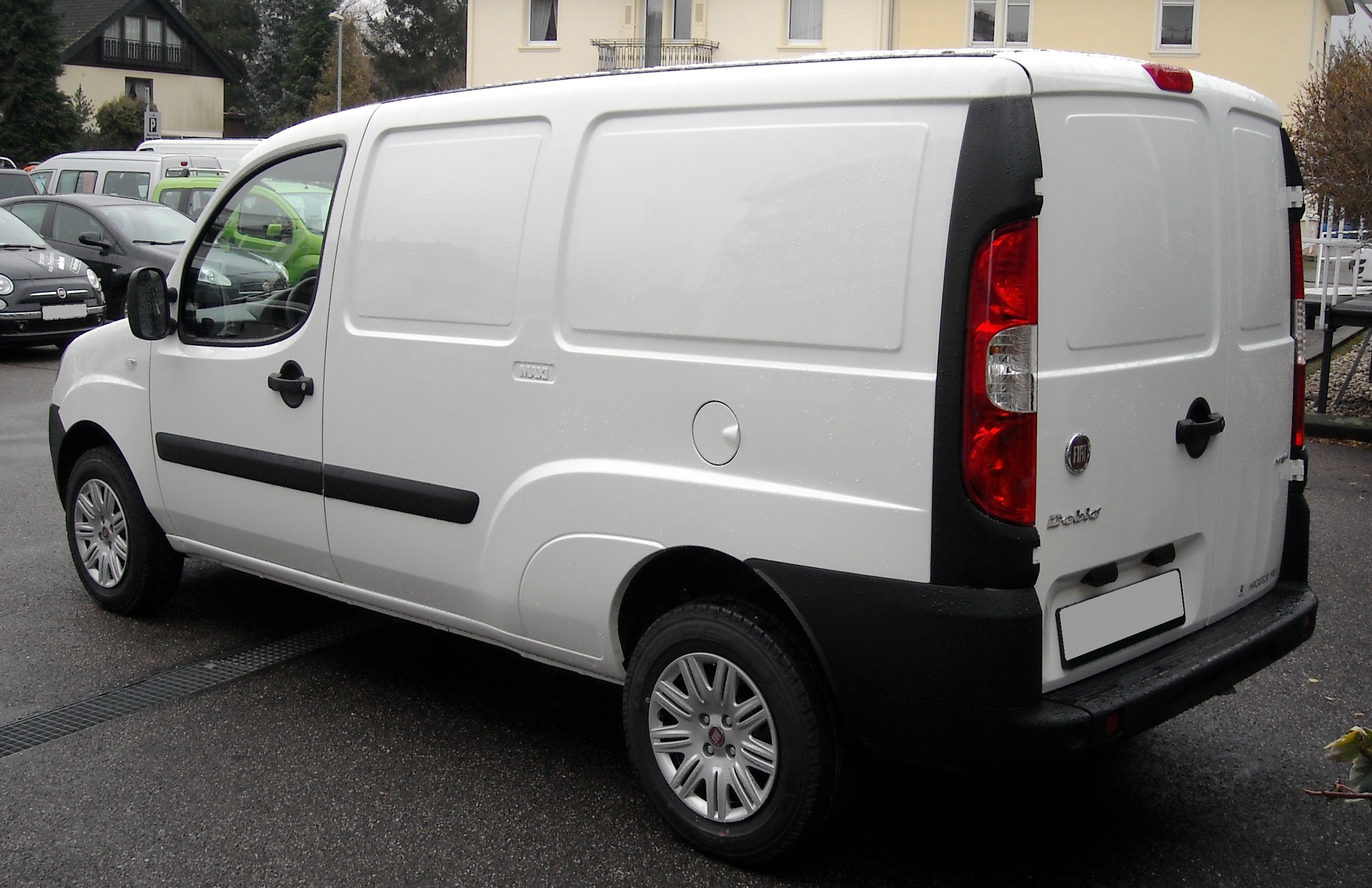 file fiat doblo maxi rear wikimedia commons. Black Bedroom Furniture Sets. Home Design Ideas
