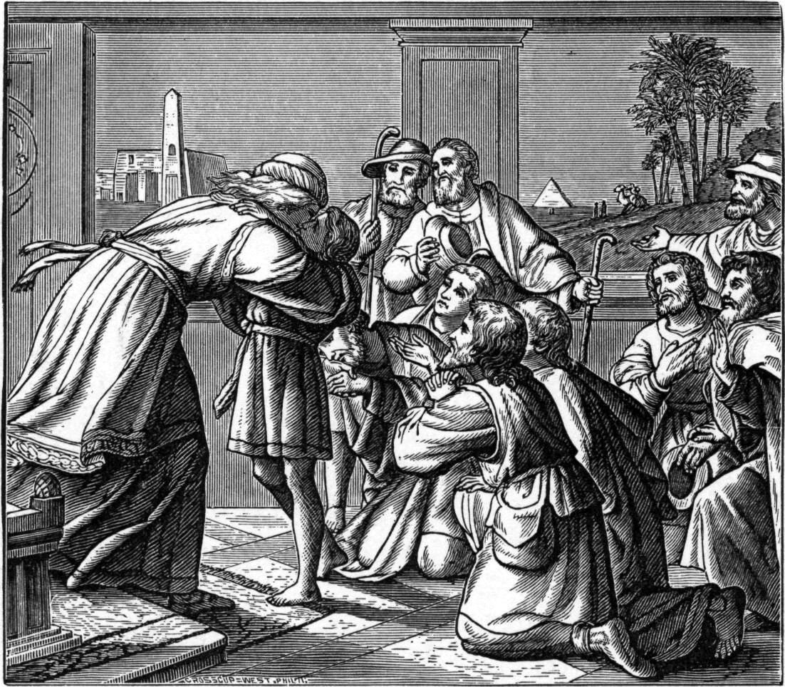 josephs unconditional forgiveness to his brothers Canaan, by contrast, is caught off guard and joseph's father, jacob, and his brothers are facing starvation  in other words, forgiveness is not unconditional.