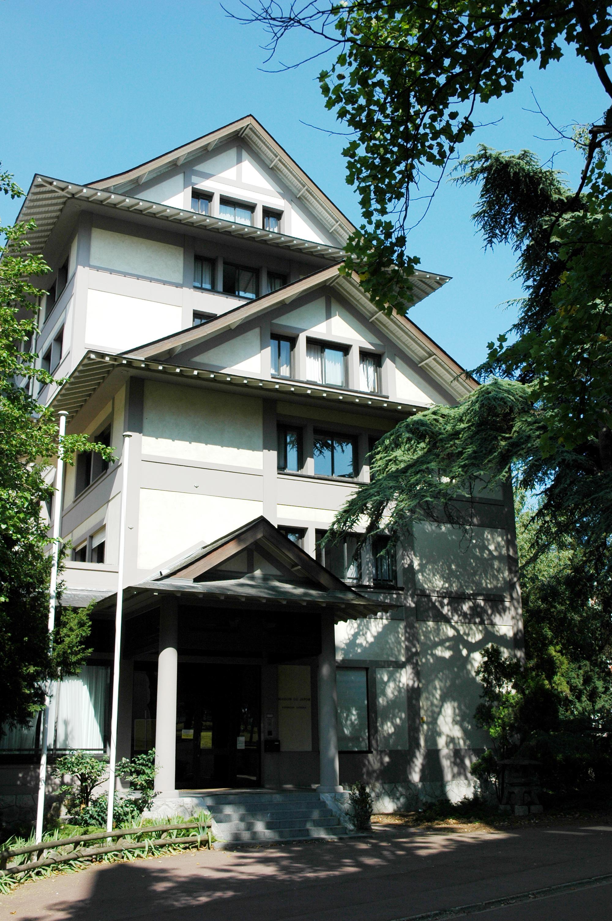 File france paris cite universitaire maison japon 01 jpg - Maison du japon a paris ...