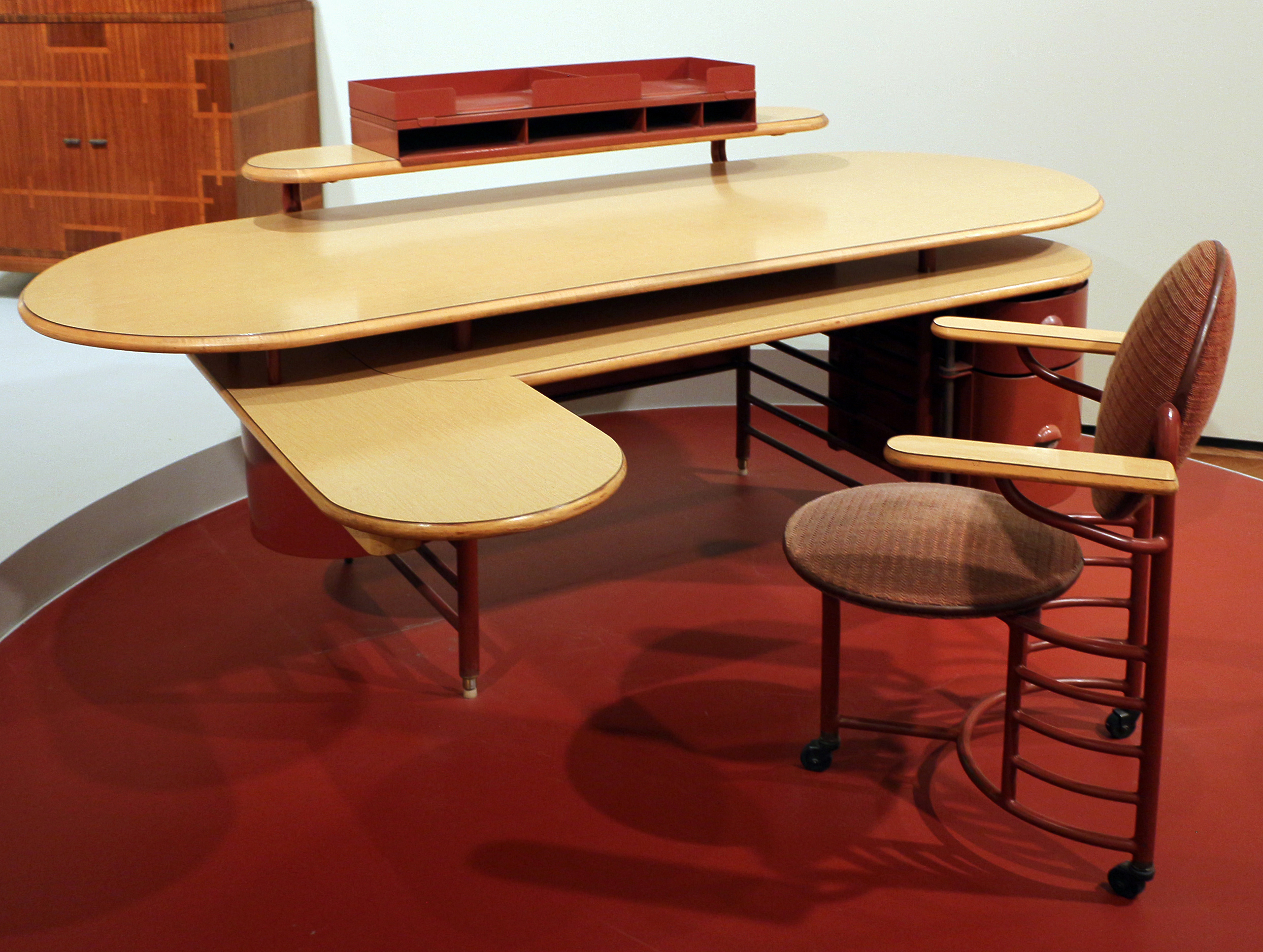 File:Frank Lloyd Wright Per Metal Office Furniture Company (oggi Steelcase  Inc.)
