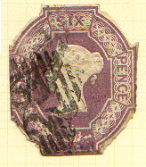British embossed postage stamps