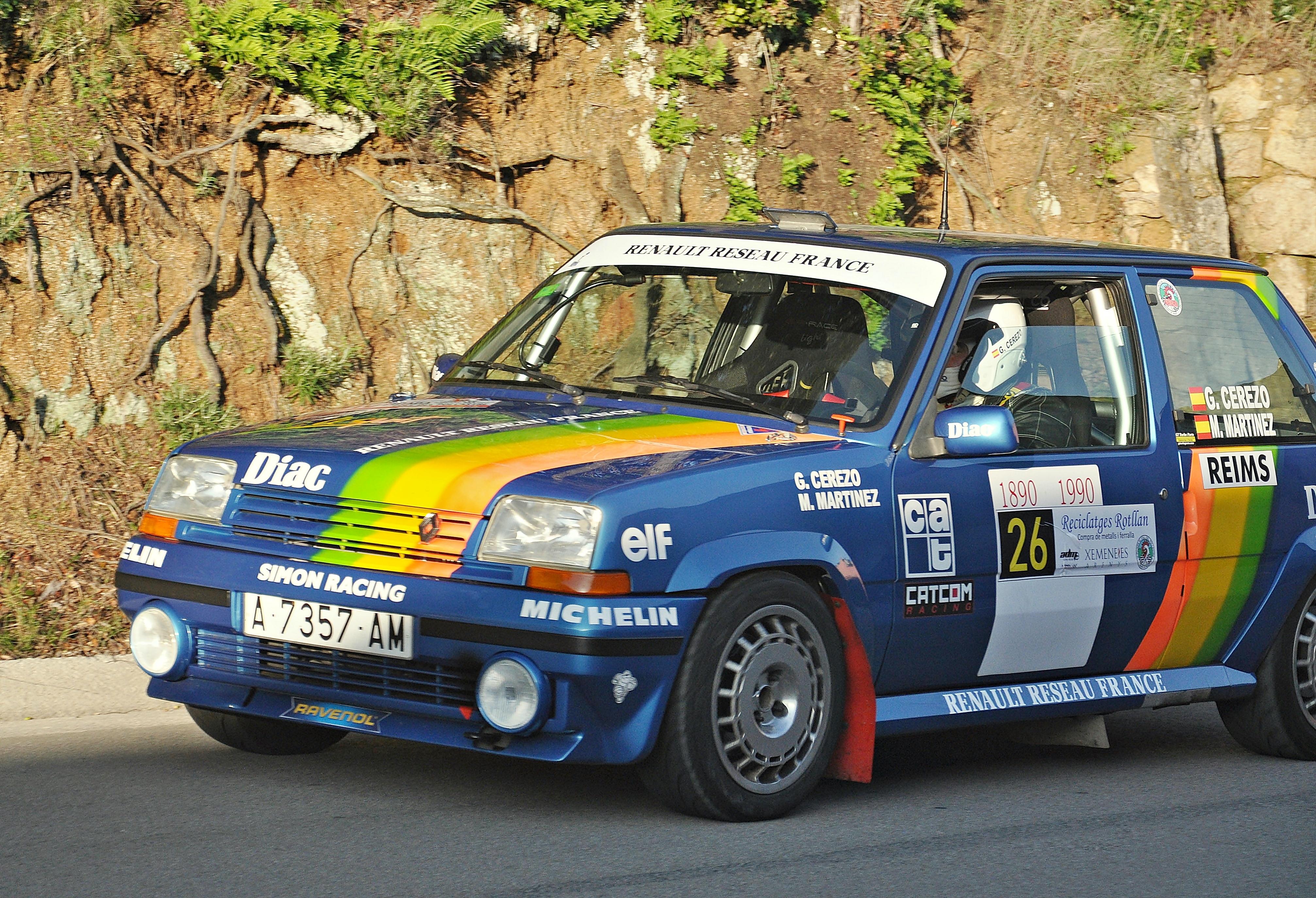 File Gabriel Cerezo Renault 5 Gt Turbo Jpg Wikimedia Commons