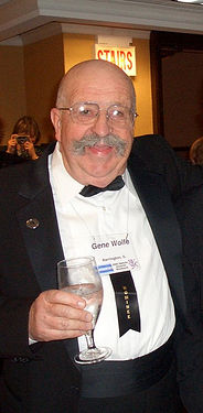 Wolfe during Nebula Awards in Chicago, 2005 (a 2004 nominee)