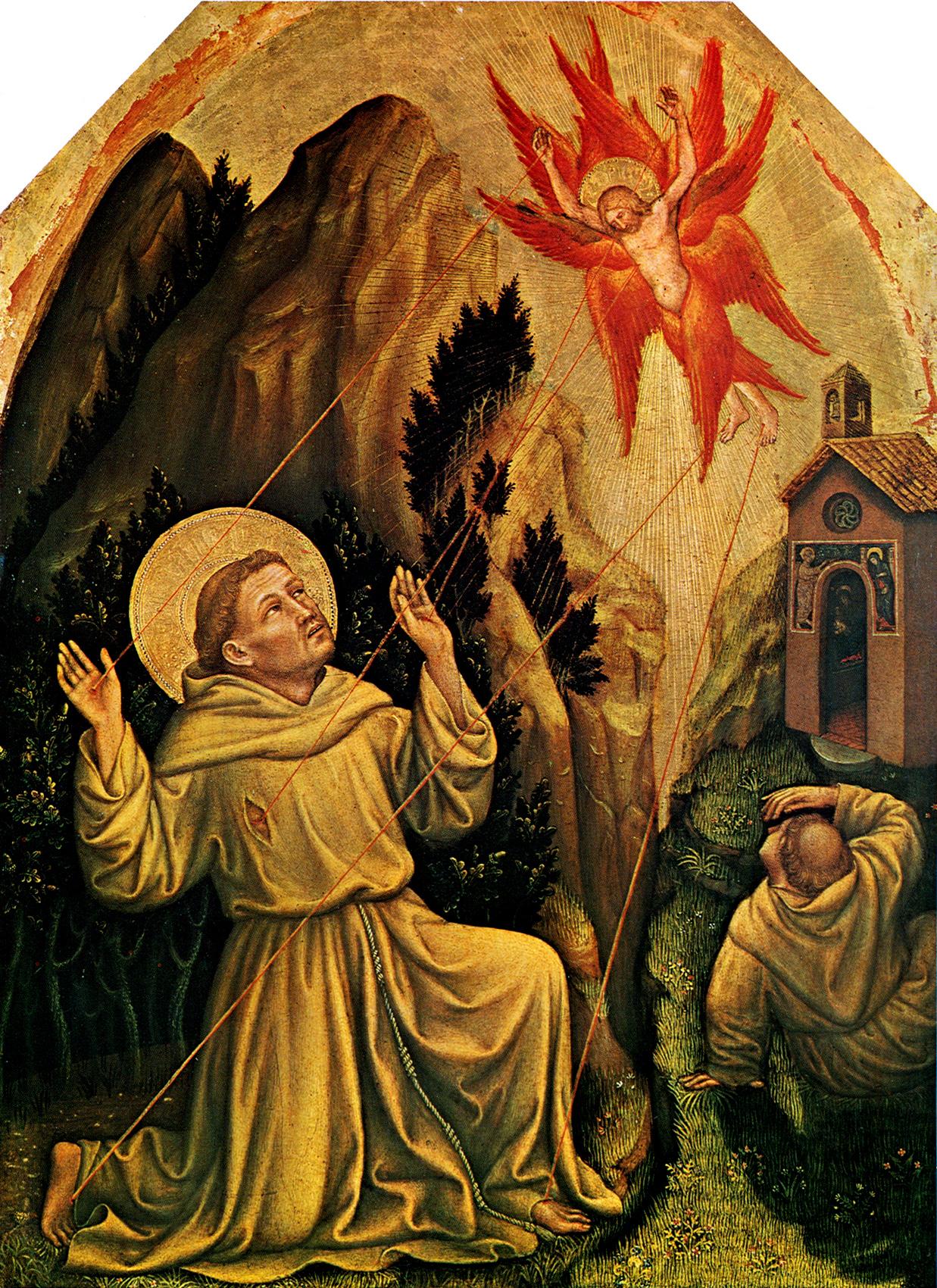 Stimmate di san Francesco (Gentile da Fabriano) - Wikipedia