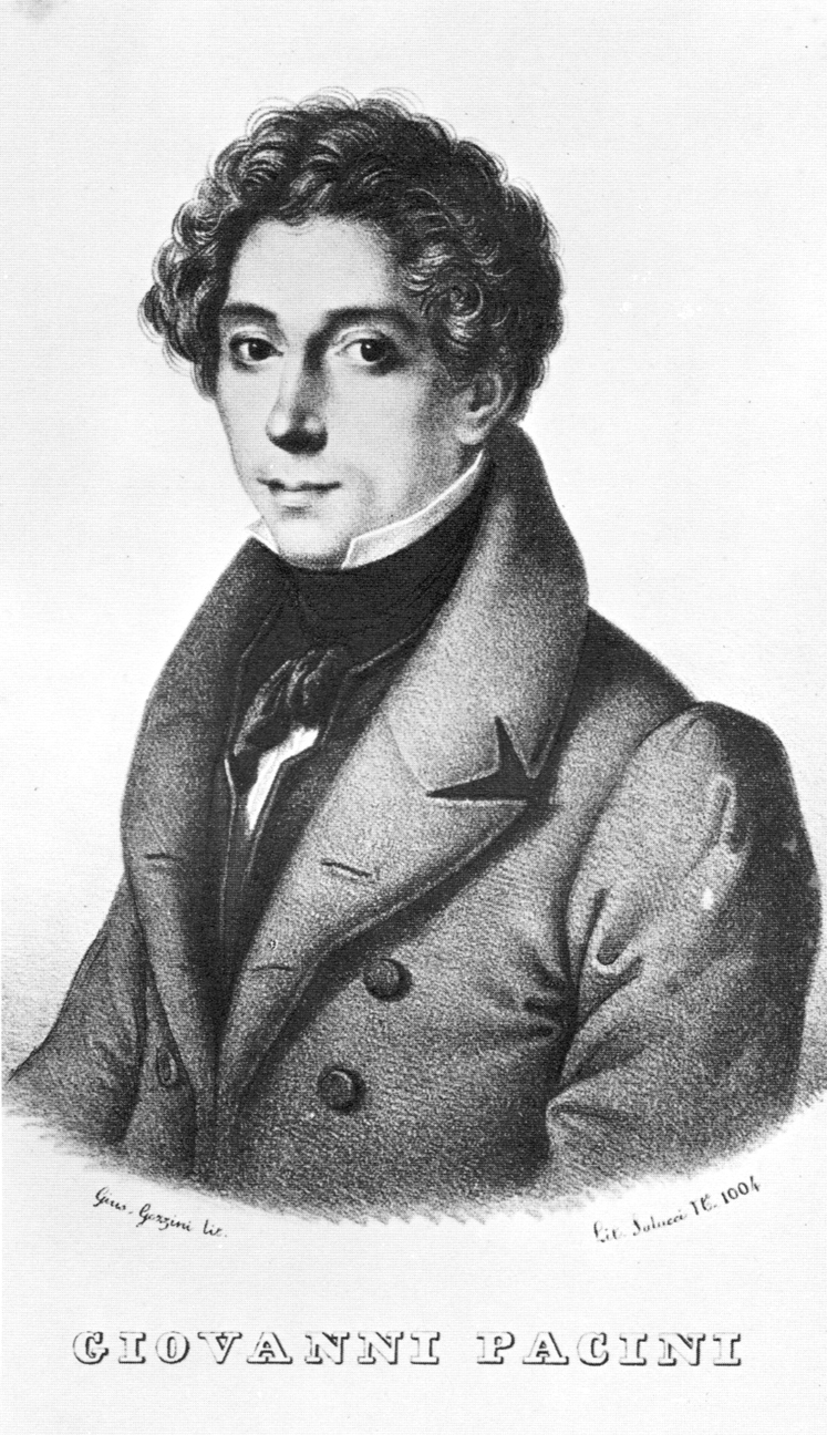 Giovanni Pacini c. 1835 (original etching by G. Gazzini)