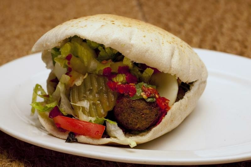 Falafel in a Pita, No' 1 enemy of Israeli Lolitas.