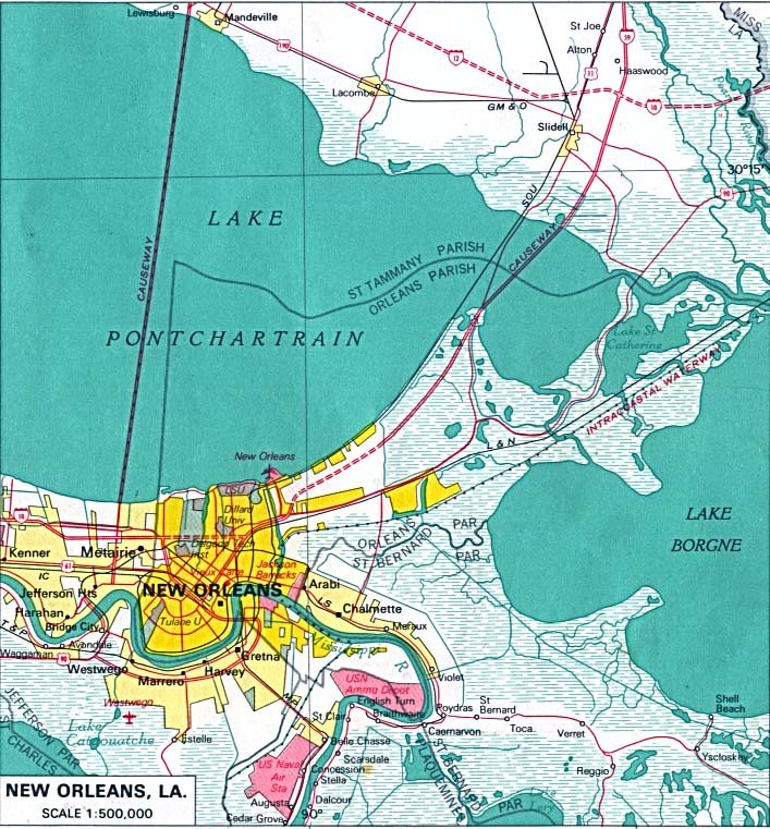 FileGreater New Orleans 1970 Mapjpg  Wikimedia Commons