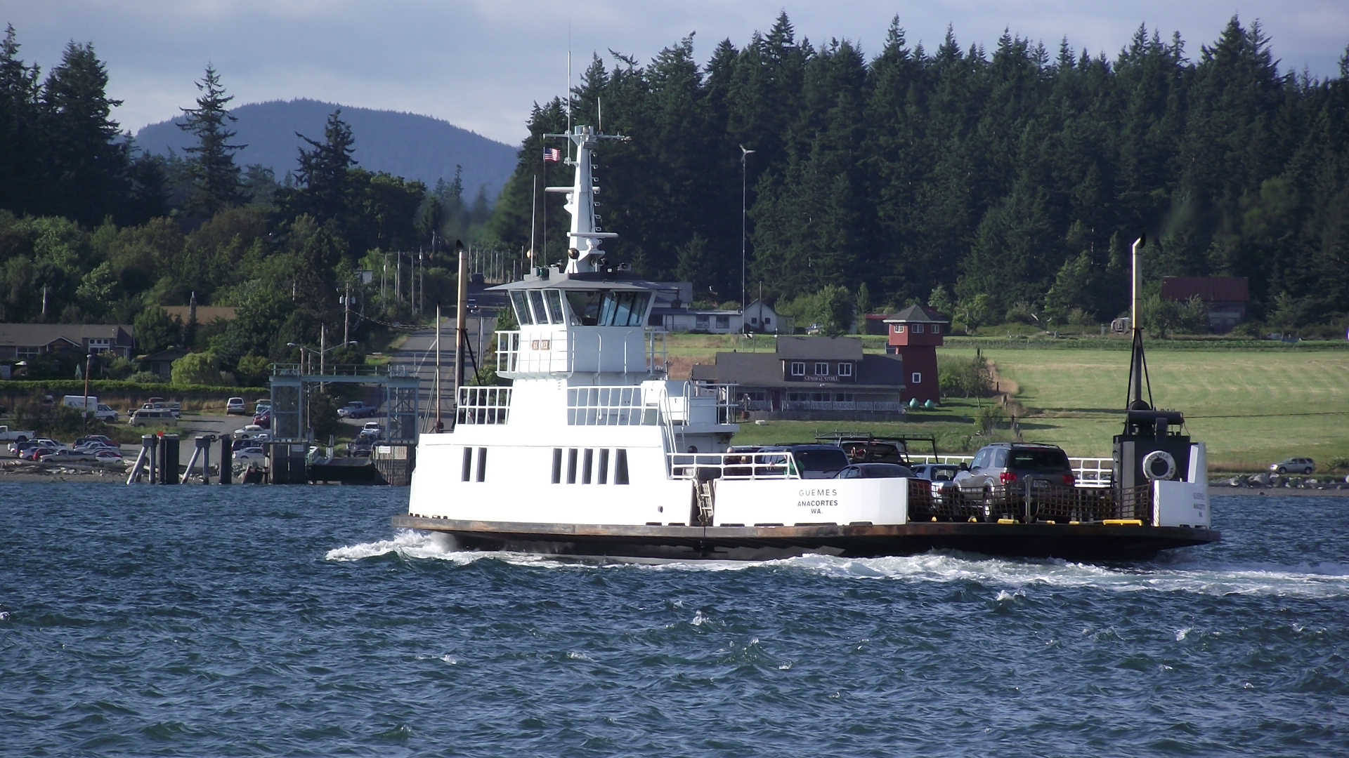 Washington Andreson Island Ferry
