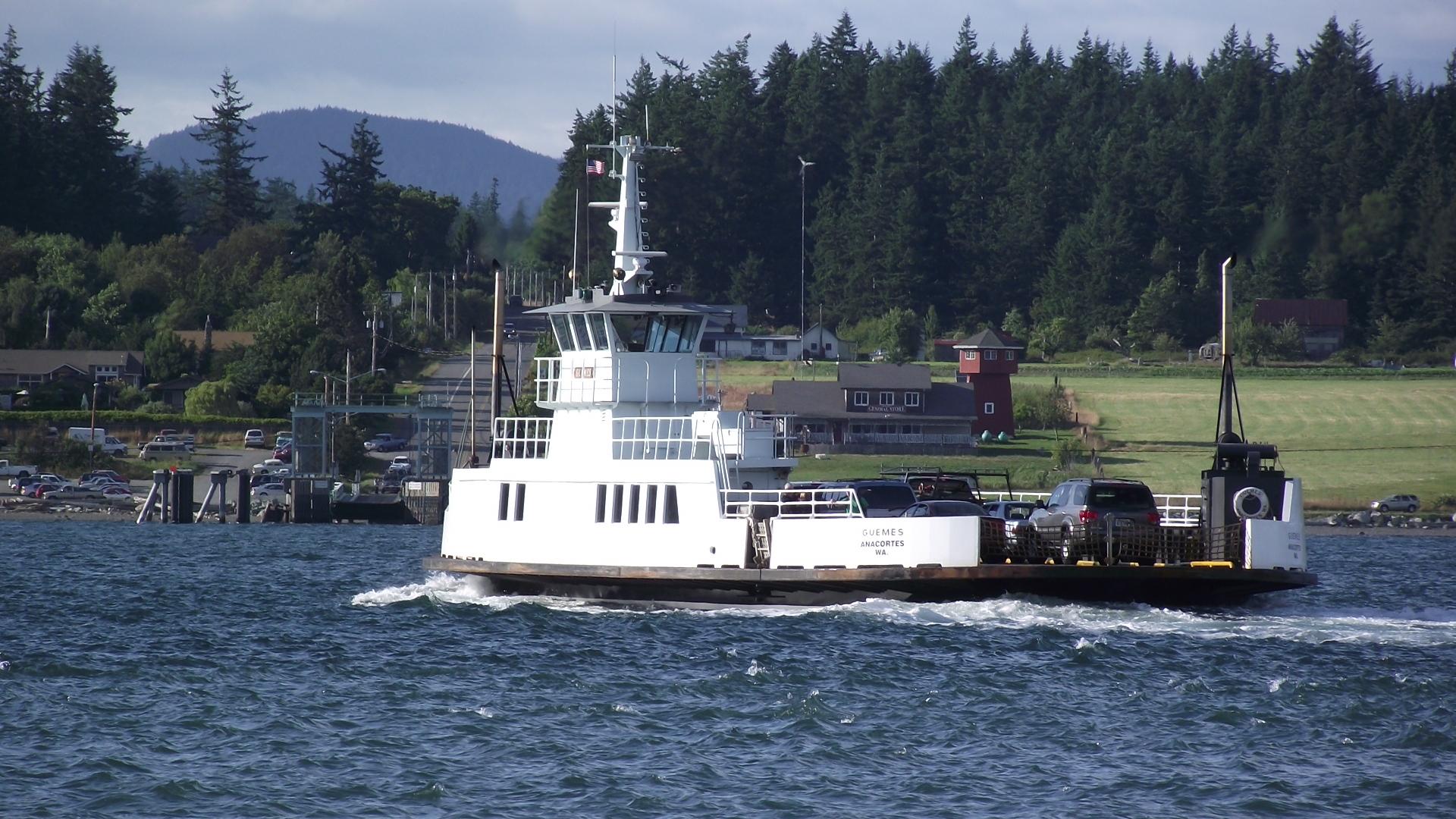Guemes Island Ferry Alerts