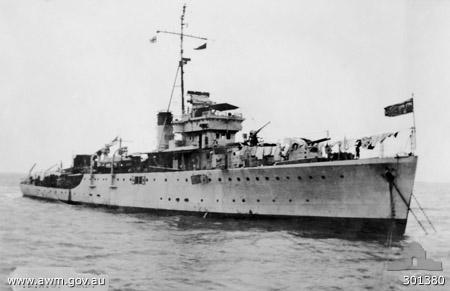 Grimsby Class - HMAS Swan (U-74)