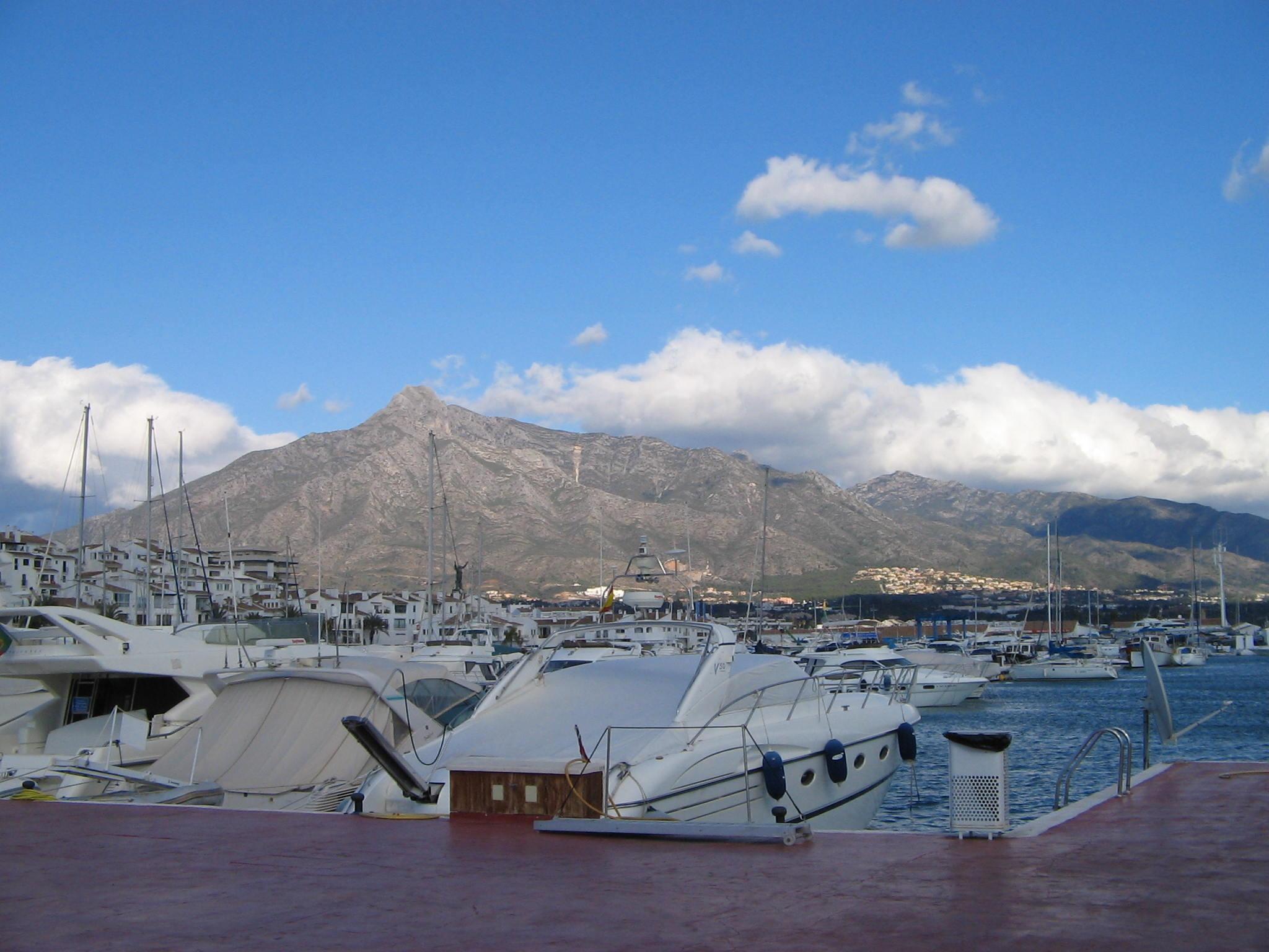 file harbor in puerto banus costa del sol spain dec On puerto banus costa del sol