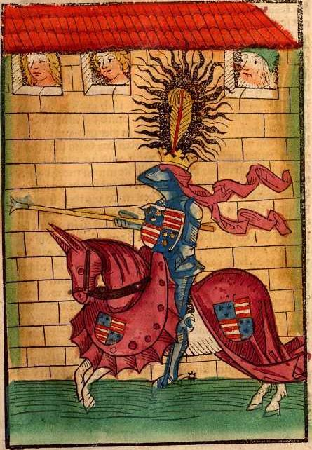 Depiction of Armando II de Celje