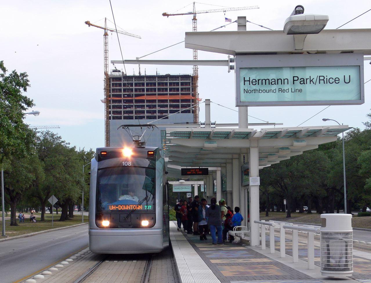 Hermann Park/Rice University station - Wikipedia