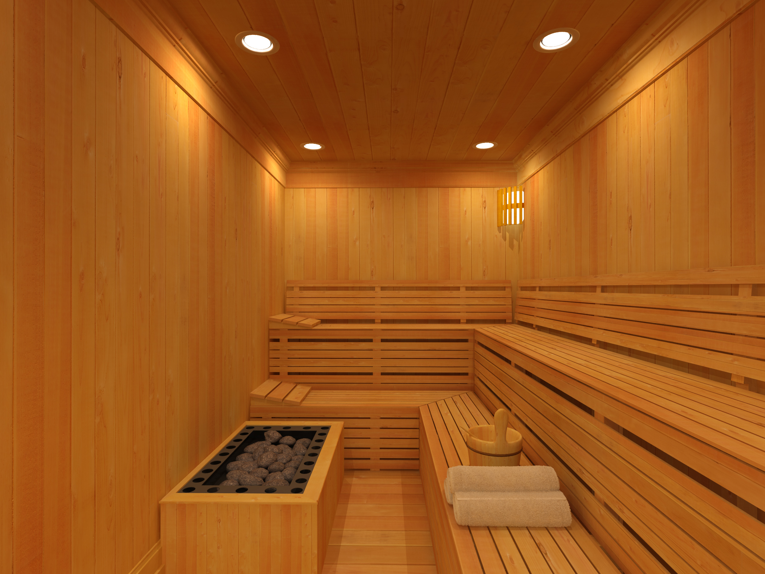 Wet Room Sauna