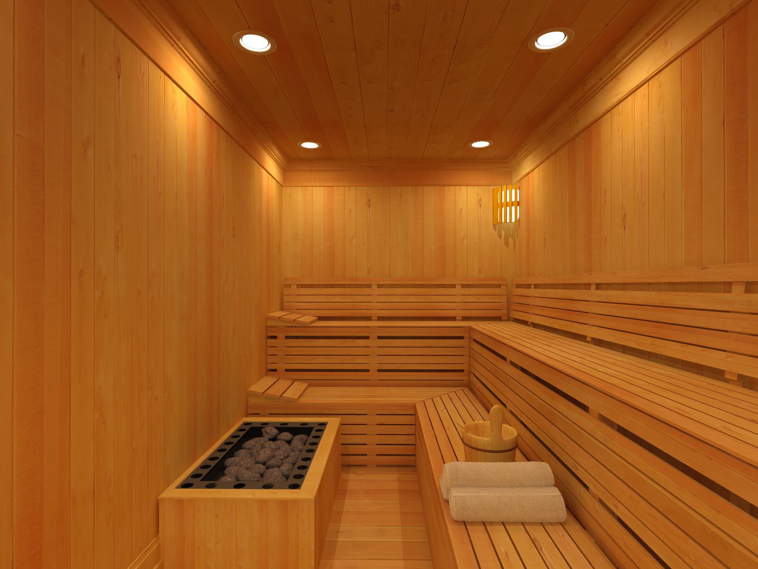 Resultado de imagem para sauna