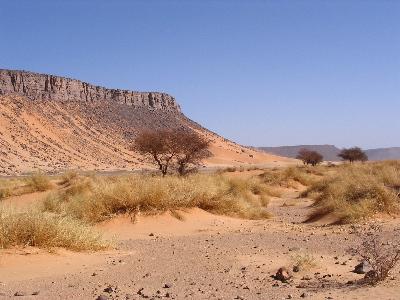 The desert Hoggar_Desert_(Algerie)