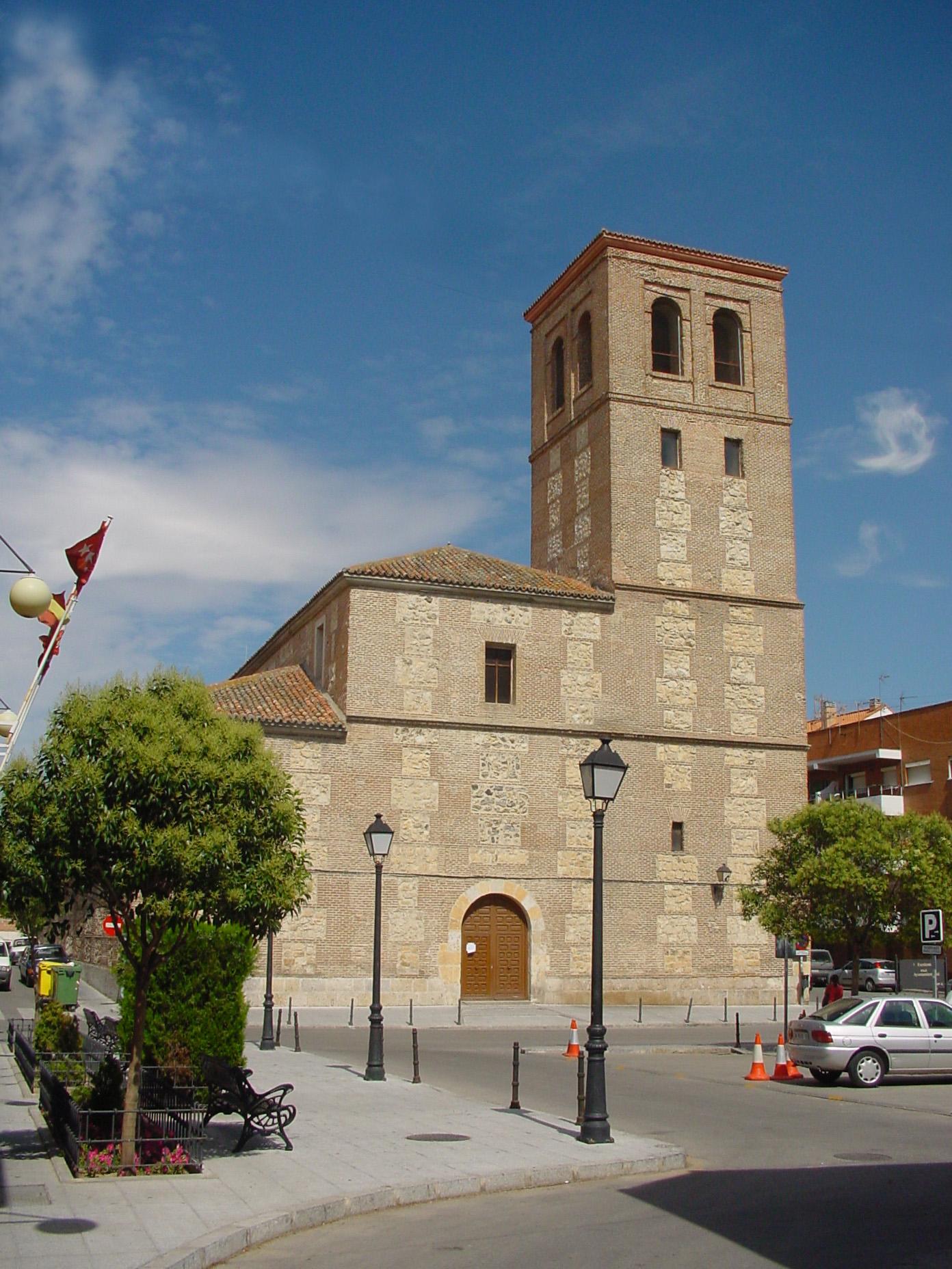 Paracuellos Del Jarama Mapa.Archivo Iglesia De San Vicente Martir En Paracuellos De