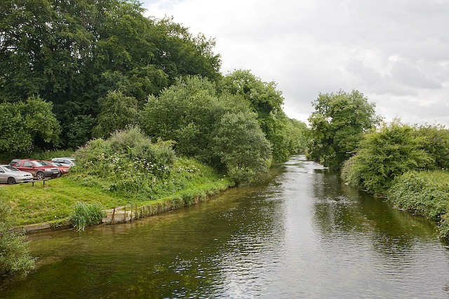 Itchen Navigation south of Tun Bridge, Winchester - geograph.org.uk - 879715