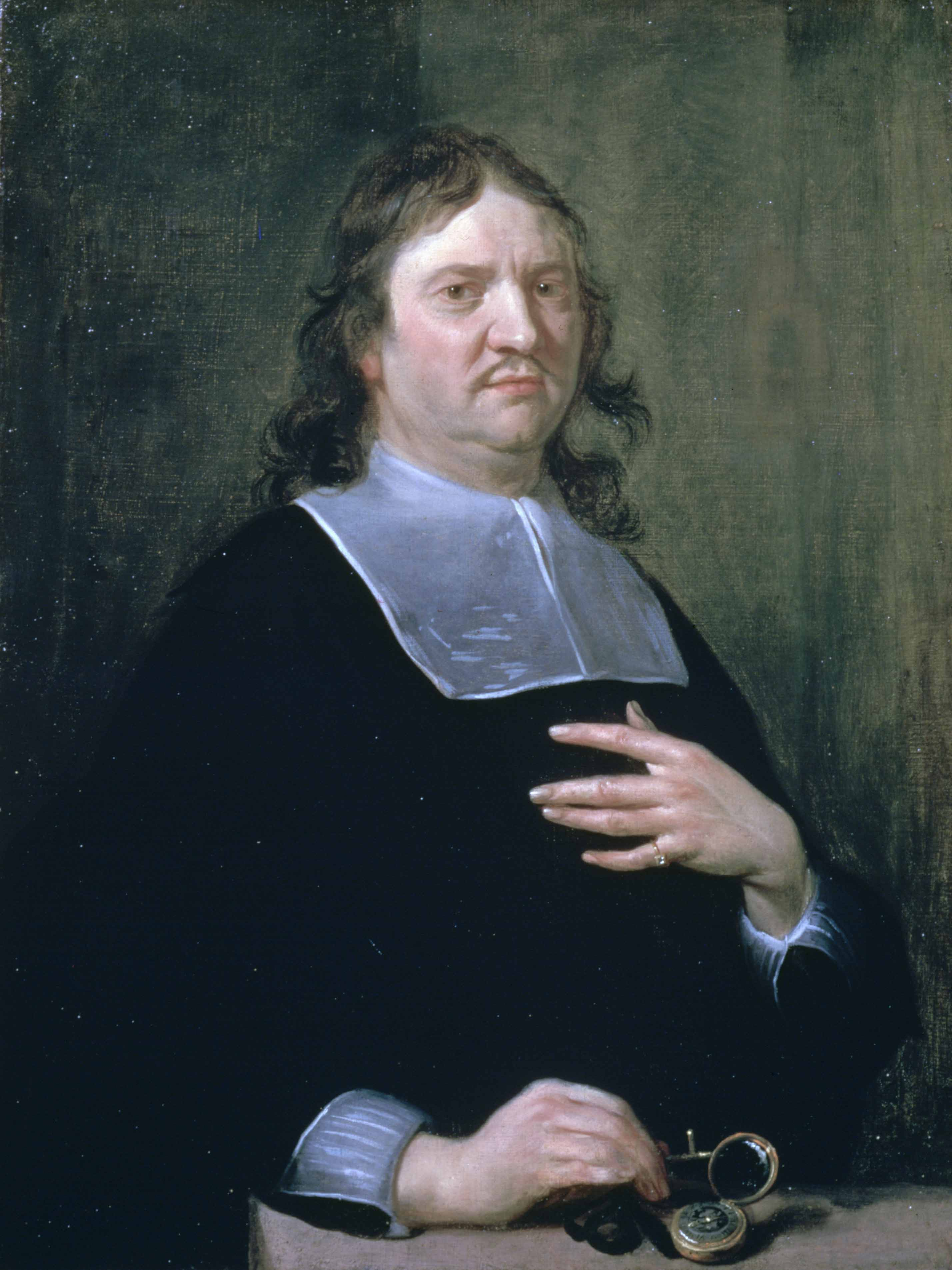 Henry Oldenburg by [[Jan van Cleve (III)