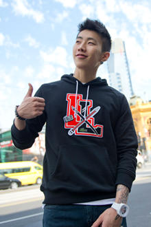 Jay Park in Flinders Street Station, in September 2012.png