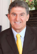 English: Joe Manchin (D-WV), United States Senator