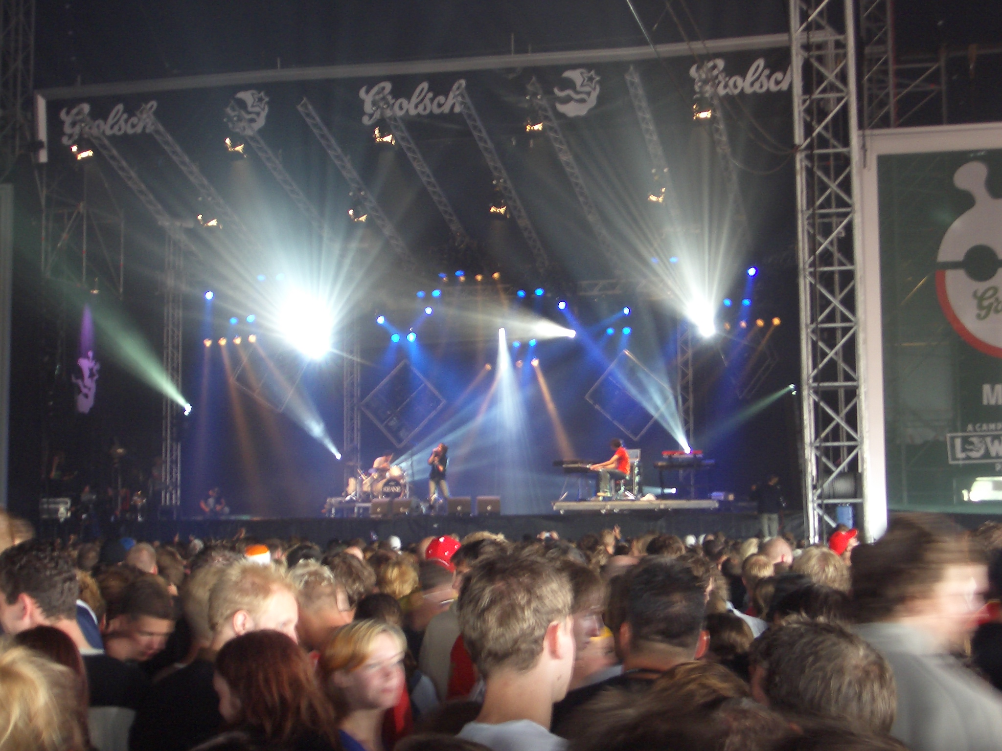 Keane at Lowlands 2004