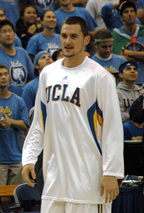 UCLA's Kevin Love was named Player of the Year...