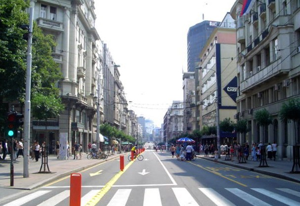 Datei Kralja Milana Street Belgrade Serbia Jpg Wikipedia