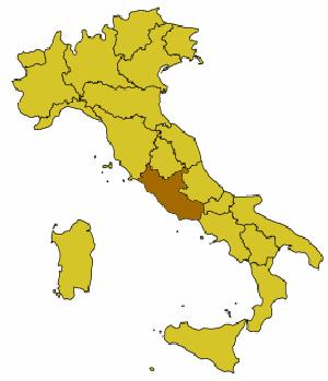 Posición del municipio en Italia