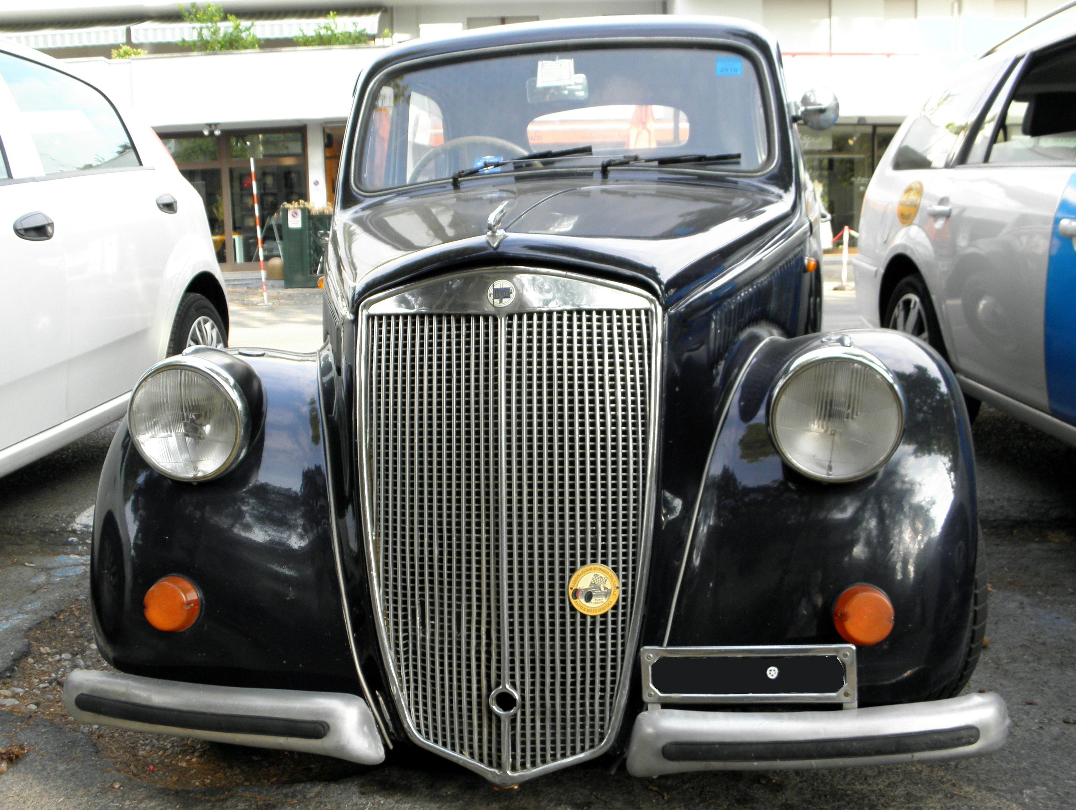 Image [ 17 of 50 ] - Old Italian Car Lancia Ardea 1951 Editorial ...