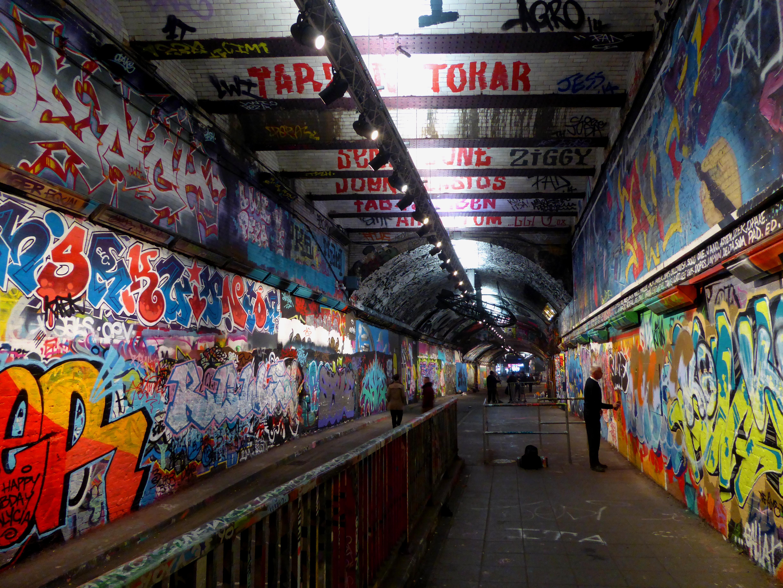 Leake Street Graffiti Tunnel Looking North.jpg