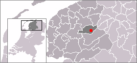 Location of Drachten