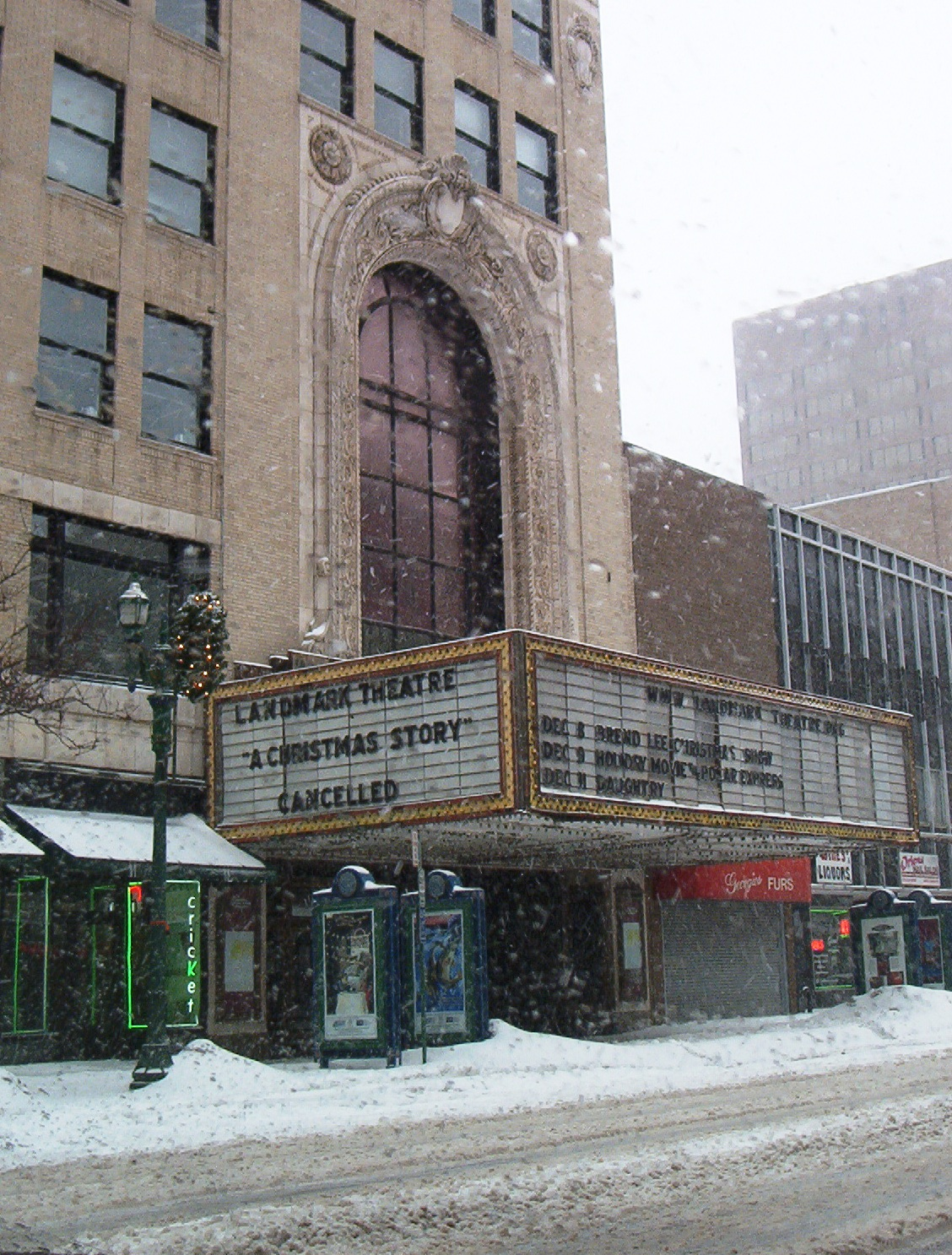 Landmark Theatre (Syracuse, New York) - Wikipedia