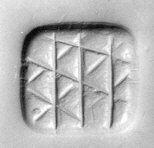 Loop-handled rectangular seal MET ss93 17 109