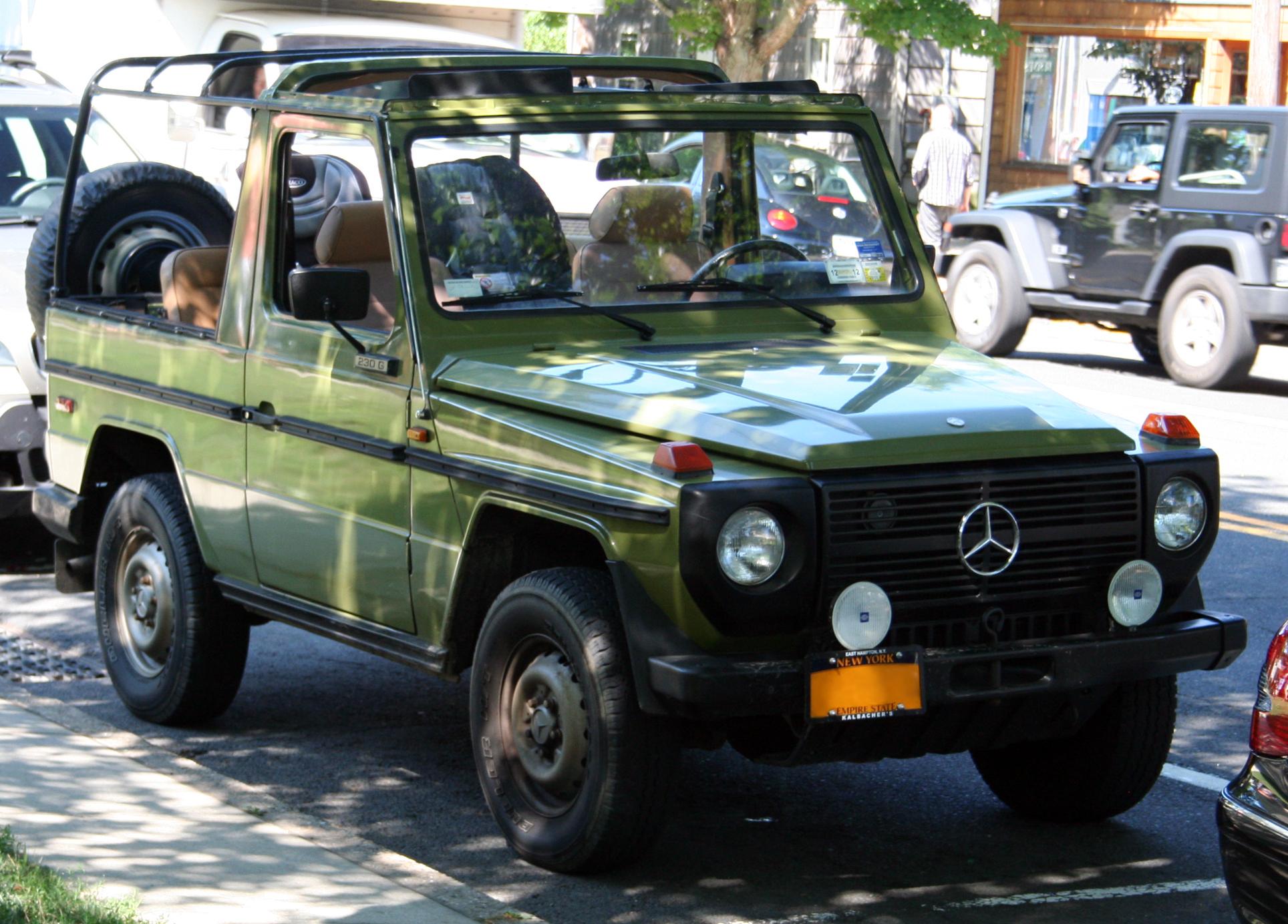 1982 Mercedes Benz G Wagon Autos Post